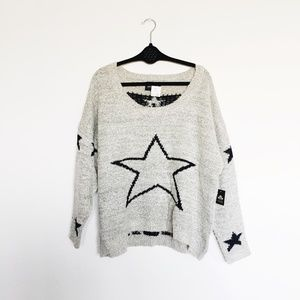 New! Urban Outfitters Maddison Star Sweater